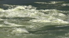 Nature, Thompson River rapids, medium shot Stock Footage