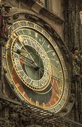 Astronomical Clock in Prague, Czech Republic. Stock Photos