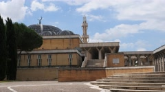 Rome Grand Mosque 4K Stock Footage