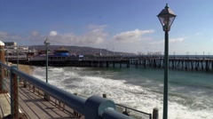 Redondo Beach Pier 1 Stock Footage