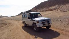 Jeep safari Stock Footage