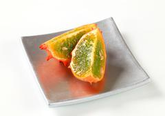 Horned melon - stock photo