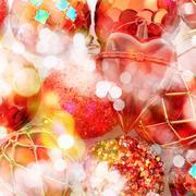 Festive Christmas background Stock Photos