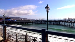 Redondo Beach Pier 2 Stock Footage