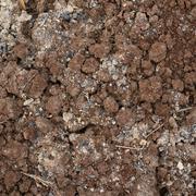 Bad quality earth soil - stock photo