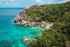 Tropic coast - stock photo