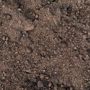 Fragment of an earth soil texture - stock photo