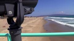 Hermosa Beach Pier Stock Footage
