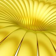Bands forming abstract whirlpool - stock illustration