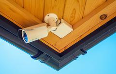 Home Surveillance Stock Photos