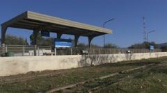 Train Station La Calera Stock Footage
