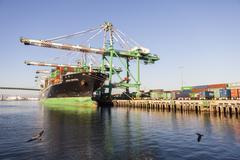 Cargo Shipping - stock photo