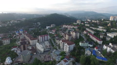 Sochi from above Stock Footage