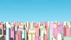 Sunny Shiny City Stock After Effects