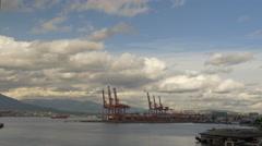 Vancouver - Harbour / Port - 25P - ProRes 4:2:2 10 Bit - UHD 4K Stock Footage