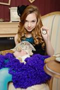Stock Photo of Alice in Wonderland