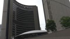 Toronto City Hall, Toronto 2015 Stock Footage