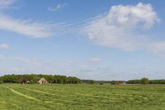 Country of Friesland, Lemmer - stock photo