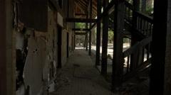 Abandoned hotel on Contadora Island, Panama Stock Footage