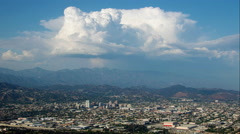 Glendale, California Timelapse With Clouds Stock Footage