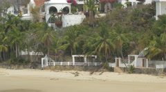 Villas and hotels on Contadora Island, Panama Stock Footage