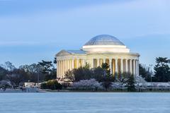 Stock Photo of Thomas Jefferson Memorial building