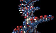DNA Atom Stem Stock Illustration
