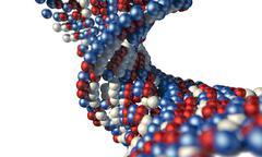 DNA Atom Stem - stock illustration