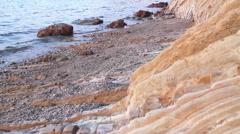 Sea coast - stock footage
