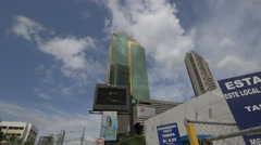Credicorp Bank in downtown Panama City Stock Footage