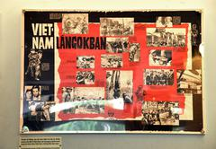 Stock Photo of HO CHI MINH - MARCH 7: Propaganda poster of the |Budapest Patriotic Front, su