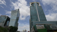 Global Bank in Panama City Stock Footage