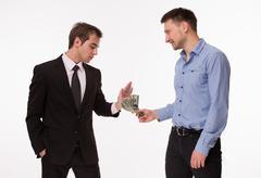 Bribery Stock Photos