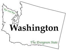 Stock Illustration of Washington State Motto and Slogan