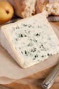 Bleu D'Auvergne Cheese Stock Photos