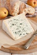 Bleu D'Auvergne Cheese - stock photo