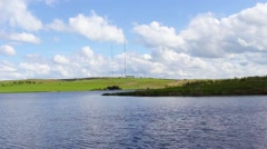 Lily Loch, North Lanarkshire, Scotland, UK Stock Footage