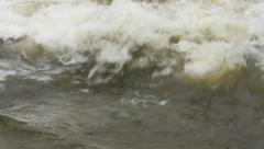 Detail of Water Flowing River - Stock Footage