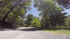 Road to the Old Mill at Berry College, Rome, GA 06-14-2015 Stock Footage