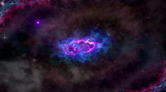 Space Stars Cosmos Nebula Galaxy Stock Footage