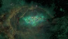 Space Stars Cosmos Nebula Galaxy Stock Footage