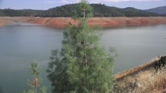Water level at shoreline Stock Footage