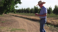 DIVINING ROD AND FARMER Stock Footage