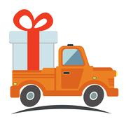 Stock Illustration of Free delivery, fast delivery icon. Vector.