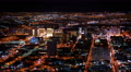 4K Las Vegas Timelapse Cityscape 25 Downtown at Night Footage