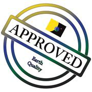 Earth Quality Approved Stamp Stock Illustration