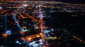 4K Las Vegas Timelapse Cityscape 29 Downtown at Night Footage