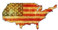 usa territory - stock illustration