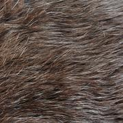 Real rabbit fur texture or background - stock photo