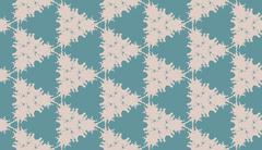 The pattern of triangles abstract gray and aqua Stock Illustration